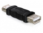 Delock adapteris gender changer USB-A female - USB-A female