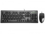 Keyboard set A4-Tech KM-72620D USB, US Black