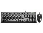 Keyboard set KRS-8372 USB, US Black