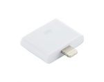 4World Adapter iPhone 30pin > Lightning iPhone 5/iPad 4/iPad mini 1.0m baltas