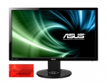 Monitorius Asus VG248QE 24'' LED, wide, 1ms, Full HD, DVI, HDMI, DP, Juodas