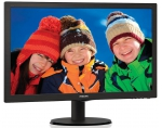 Monitor Philips V-line 223V5LSB2/10 21.5'' LED FHD,SmartControl Lite, Black