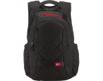 "Case Logic DLBP116K Notebook Sporty Backpack/ For 16""/ Polyester/ Black/ For (29.5 x 4.0 x 39.0cm)"