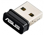 Asus USB-N10 Wireless-N150 Adapter,  IEEE 802.11b/g/n, USB2.0, Nano