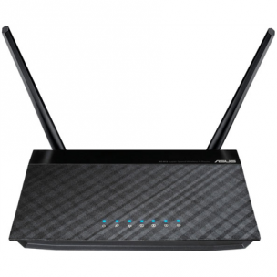 ASUS wireless N router RT-N12 VP Router/Access Point / 300Mbps  Two fixed 5dBi Antennas