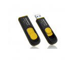 A-DATA DashDrive UV128 16GB Black+Yellow USB 3.0 Flash Drive