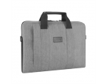 "Targus City Smart Laptop Slipcase for 14"" - 15.6"" (Grey) / Nylon / Interior: 37.4 x 3.8 x 26 cm"