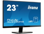 LCD 23'' Prolite XU2390HS-B1, IPS LED, Full HD, DVI, HDMI, speakers, black