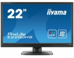 LCD LED 21.5'' Prolite E2280HS-B1 Full HD, 5ms, DVI, HDMI, speakers